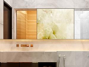 stunning onyx wall panel